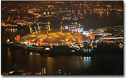 The Millennium Dome, Greenwich.